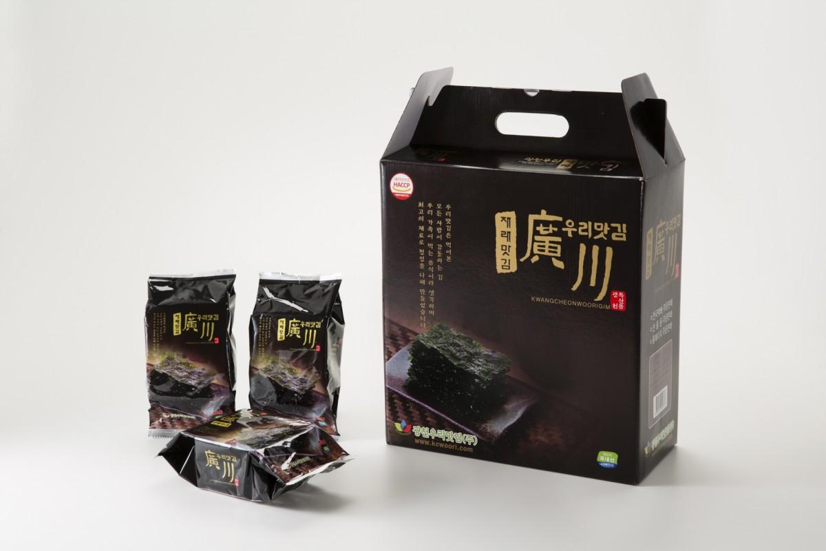 광천우리맛김(주) 사진1 (광천우리재래식탁김)