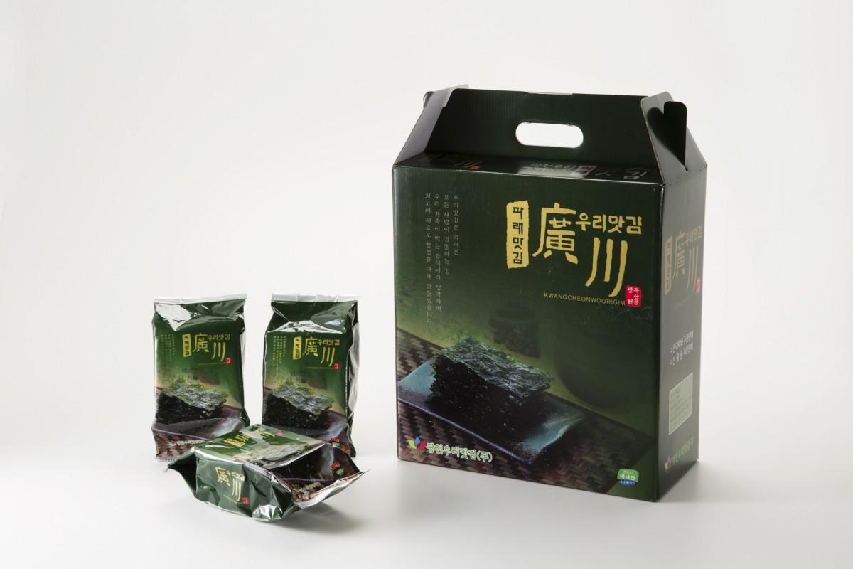 광천우리맛김(주) 사진2 (광천우리파래식탁김)